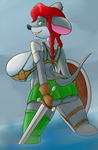 Squeaky warrior~ by creatiffy