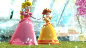 [MMD] Peach and Daisy 8/8 by Luna2528CP