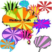 retro Talk by Red--Roses