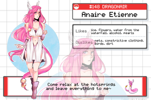 WF: ANAIRE the SHINY DRAGONAIR by reinore