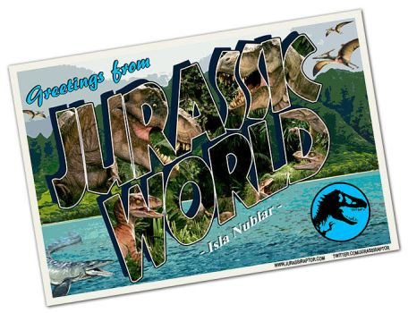 Greetings from Jurassic World by jurassiraptor
