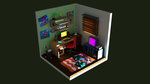 Isometric Room by Igmkgr