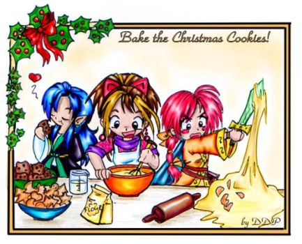 Bake the cookies by Exarrdian