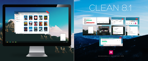 CLEAN VS for 8.1 by Mahm0udWally