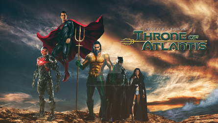 Justice League: Throne of Atlantis DCEU by HammadTheArtist