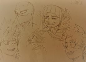 Random MHA sketches by Ncid
