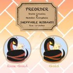 PREORDER:Animal Good Omens Enamel Pin
