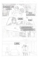 The Good Samaritan page 1 pencils and letters 2of5 by SAVGuy