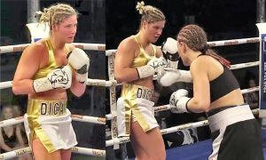 Marie-Eve Dicaire vs Christina Barry by bx2000b