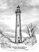 Little Point Sable Lighthouse by B-Richards