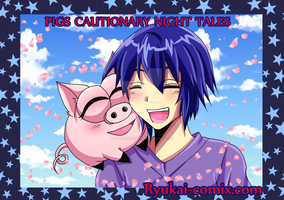 Pigs cautionary night tales: Anni and Pig by RyuKais-Comix