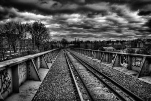 Railway to the Sky by CM-Photo