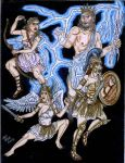 Parthenos: Daughters of Zeus by Deorse