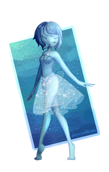 Blue Pearl by Akinyx