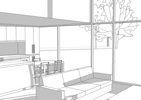 Project House: interior view by Specter-tc