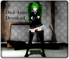 TDA Miku Dark Angel+Dl by Espirea