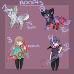 ADOPTS   OPEN by Azerex