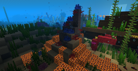 Earth's Forge Volcano (Active) by KanusTheTrainer