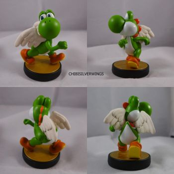 Yoshi with Wings by ChibiSilverWings