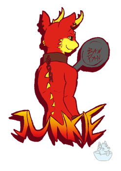 Junkie's Ban Pan by FrostyWolfter