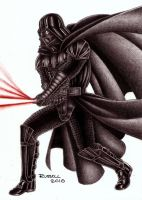 VADER STRIKES BACK by Bungle0