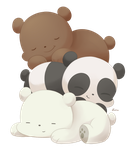 We bare bears by Exceru-Karina
