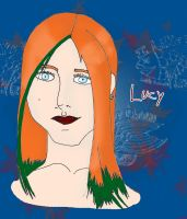 Lucy the Colored Earth type. by ArtticWitchica