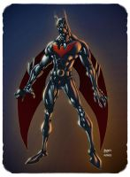 Batman Beyond by AlonsoEspinoza