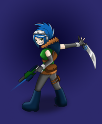 Erica the thief by RittiFruity