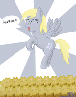 Happy Derpy Hooves Day! by MikorutheHedgehog