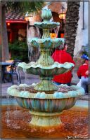 Jacksonville Zoo fountain by AnimaSoucoyant