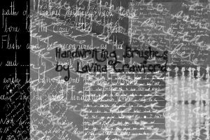Hand Writing Brushes by lavina15