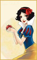 Snow White by CrimsonCobwebs