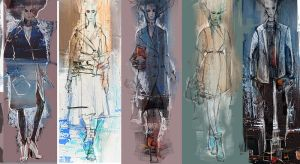 Fashion illustration by Ladybird-desu