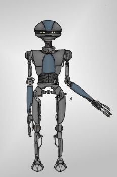 Star Wars - Droid by Konquistador