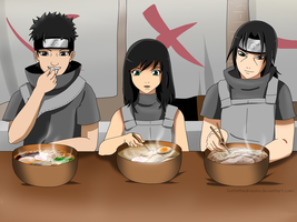 Request : Shisui, Cajaii, and Itachi by Lostinthedreams