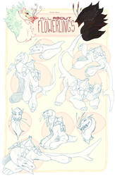 All About Flowerlings - Gesture Reference by mute-owl