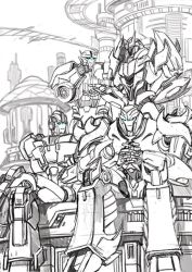 TFP Cybertron golden age sketch by GoddessMechanic