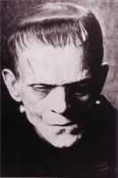 Frankenstein portrait by ArtNomad