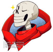 The Great Papyrus [Undertale] by ElleAP