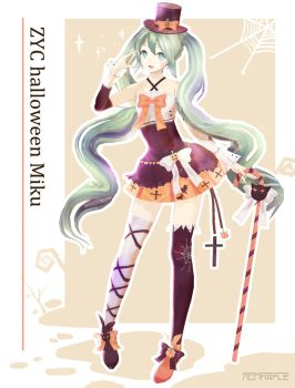 ZYC style Halloween Miku distribution by 819203920