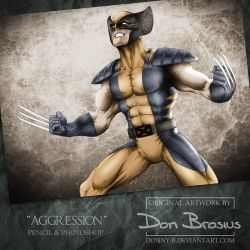 Aggression by Donny-B