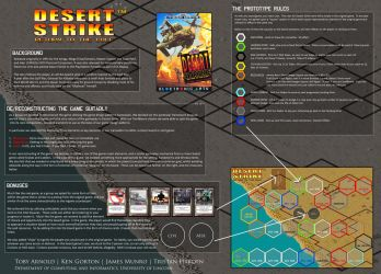 Desert Strike - Board Game by prophetlost