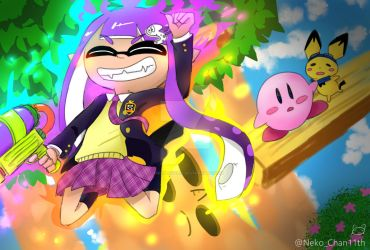 Inkling Win! by SiMonlover12