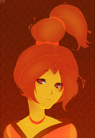 + Flame Princess+ by maplekeurig