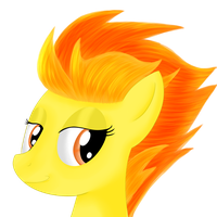 Spitfire Portrait by Dragonfoorm
