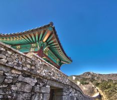 North Gate of Dongnae Eupseong Fortress by TimGrey