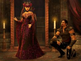 Wicked Queen by ravenscar45