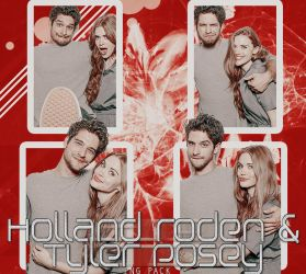 Holland Roden + Tyler Posey PNG PACK by cigarettesxrazors