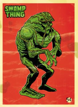 Swamp Thing by elbruno